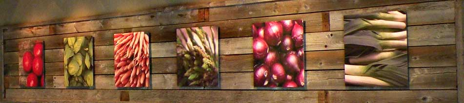 Croutons to go wall art