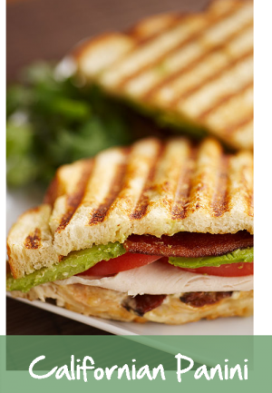 Californian Panini Sandwich - Croutons to go