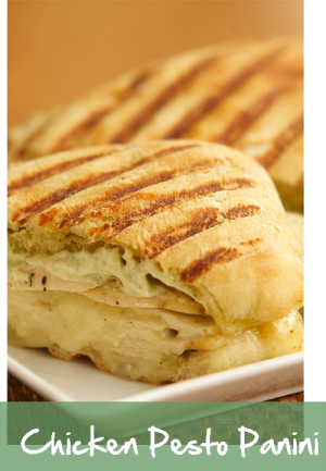 Chicken Pest Panini - Croutons to go Restaurants
