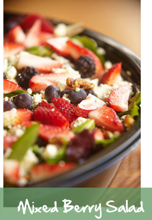Mixed Berry Salad - Croutons to go Restaurants